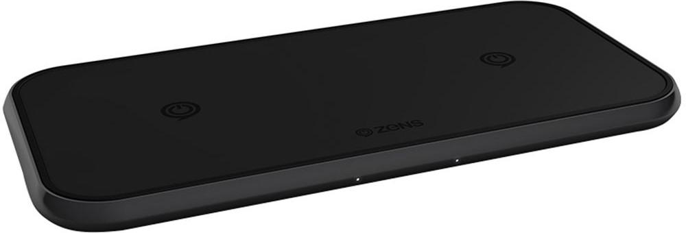 Док-станция Zens Dual Wireless Charger Black (алюминий)