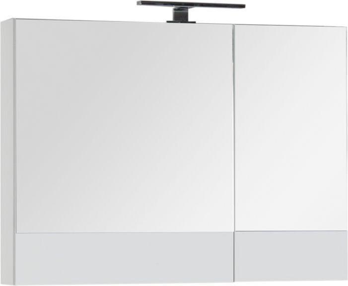 Зеркало-шкаф Aquanet Верона 90 белый 90x67x14 см