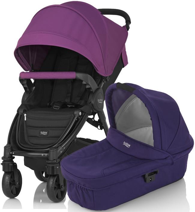 Коляска Britax B-Agile 4 Plus Mineral Purple 2в1