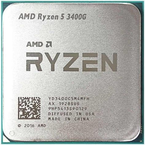 Процессор (CPU) AMD Ryzen 5 3400G 3.7GHz OEM