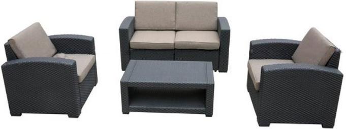 Комплект мебели Афина-Мебель AFM-2017B темный коричневый
