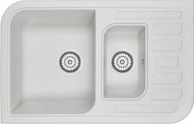 Кухонная мойка Emar ЕМ-7803 арктик