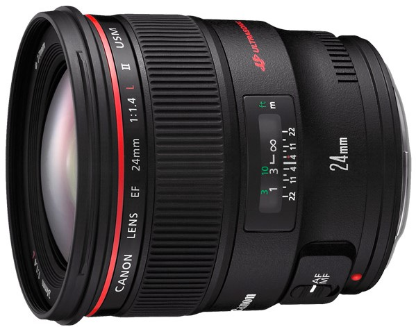 Объектив Canon EF 24mm f/1.4 L II USM Black