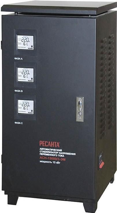 Стабилизатор напряжения Ресанта ACH-15000/3-ЭМ