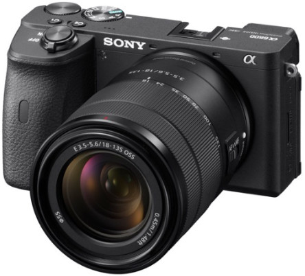 Фотоаппарат Sony Alpha A6400 Kit 18-135mm  + 18-135mm ILCE-6600M/B Black