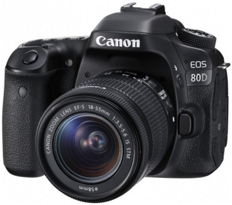 Фотоаппарат Canon EOS 80D Kit EF-S 18-55mm IS STM Black