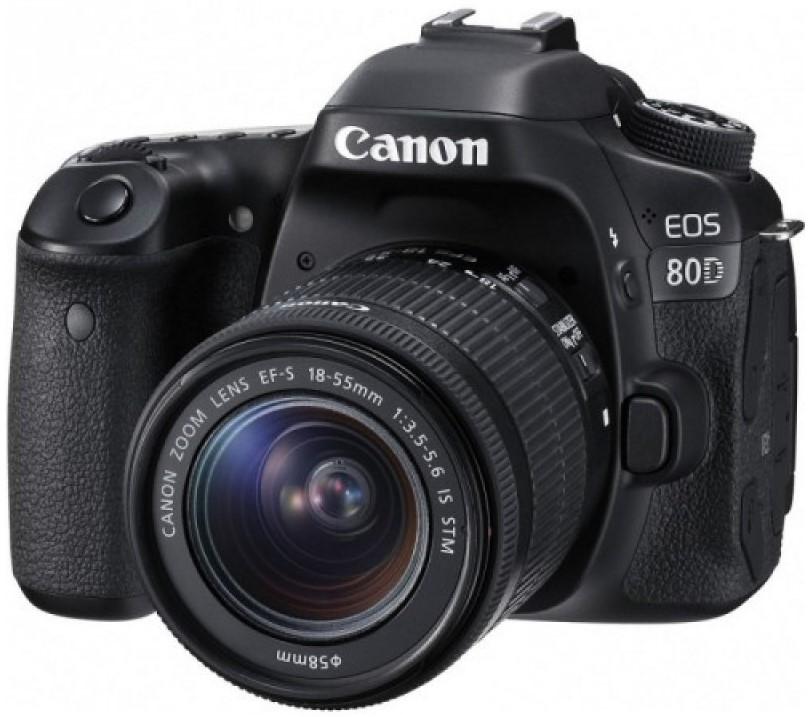 Фотоаппарат Canon EOS 80D Kit EF-S 18-5…