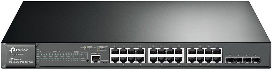 Коммутатор TP-Link T2600G-28MPS