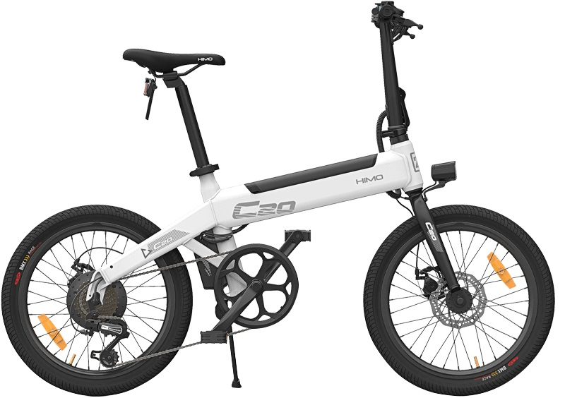 Электровелосипед Xiaomi Himo C20 Electric Power Bicycle белый 20""
