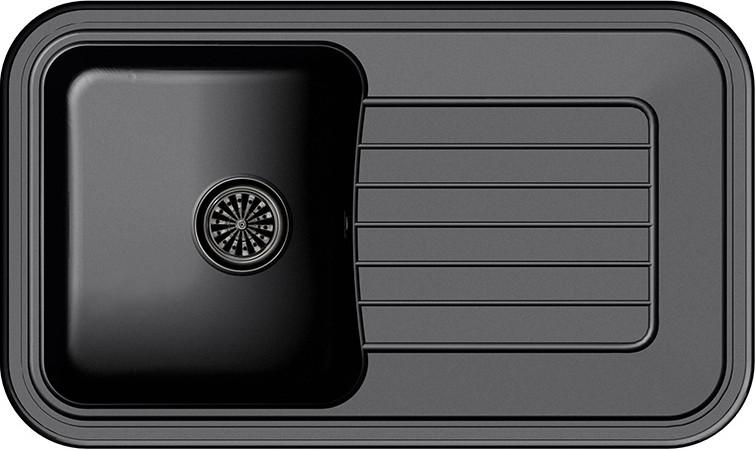 Кухонная мойка Ewigstein Antik А-60F черный