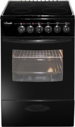 Плита Лысьва ЭПС 402 МС черный, без крышки