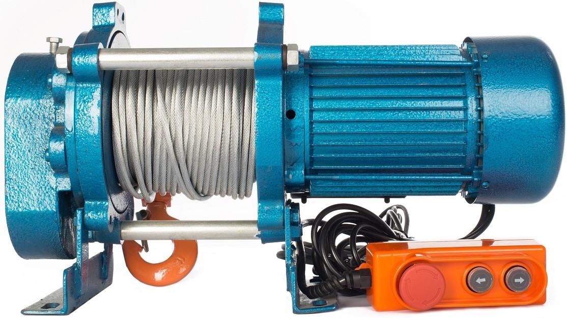 Электрическая лебедка TOR KCD ЛЭК-1000 E21 1000кг/100м/380В