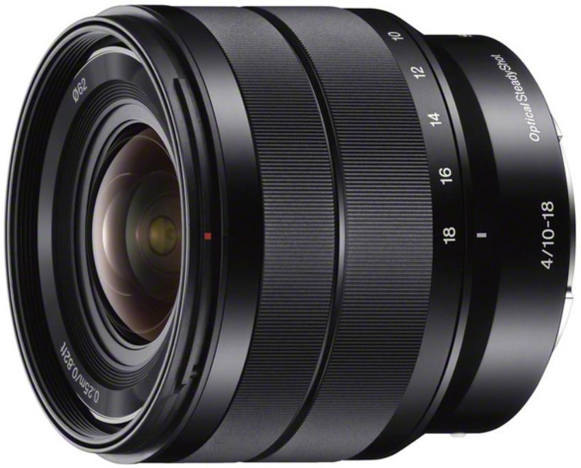 Объектив Sony E 10-18mm f/4.0 OSS Black