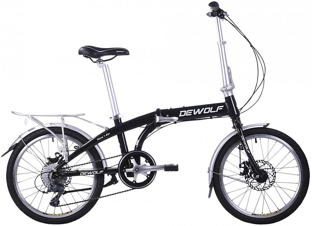 """Велосипед Dewolf Micro 1 Black 20"""""""