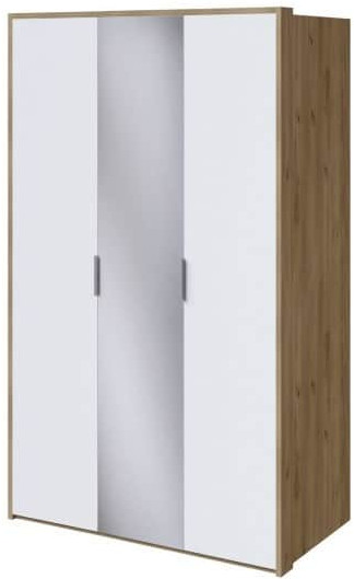 Шкаф Интердизайн Тоскано дуб крафт/белый 2209x1420x599 см (с зеркалом)