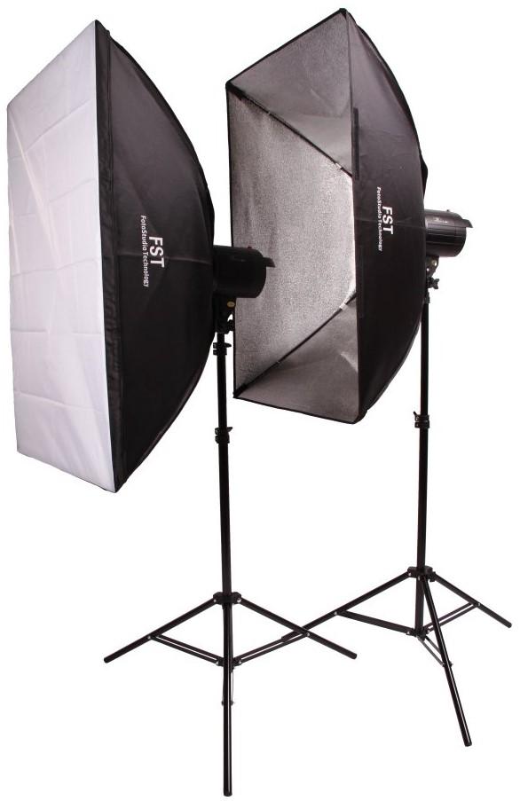 Комплект FST F-400 Softbox Kit