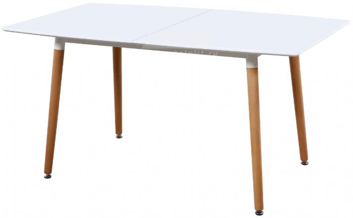 Кухонный стол Столплит DT-W9882E белый 150x90x75 см
