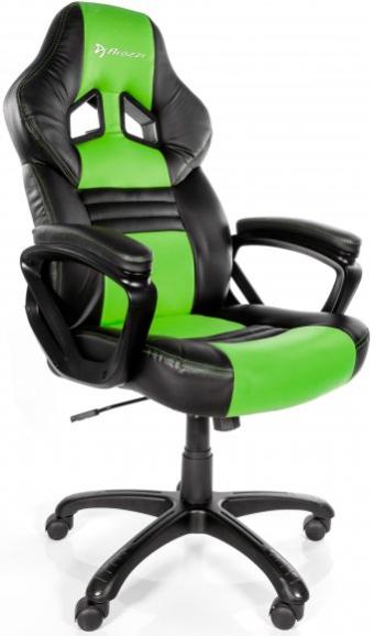 Игровое кресло Arozzi Monza зеленый