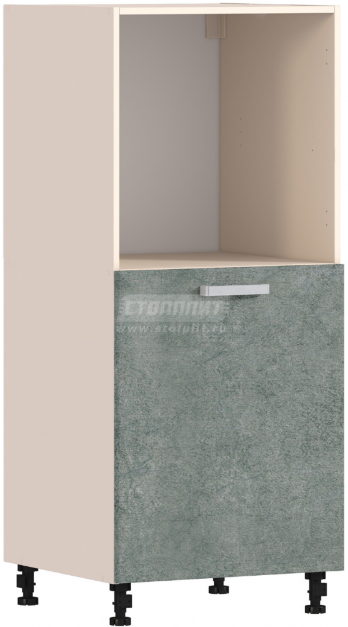 Пенал Столплит Регина 331-460-460-5358 бетон серый 60x142x56 см