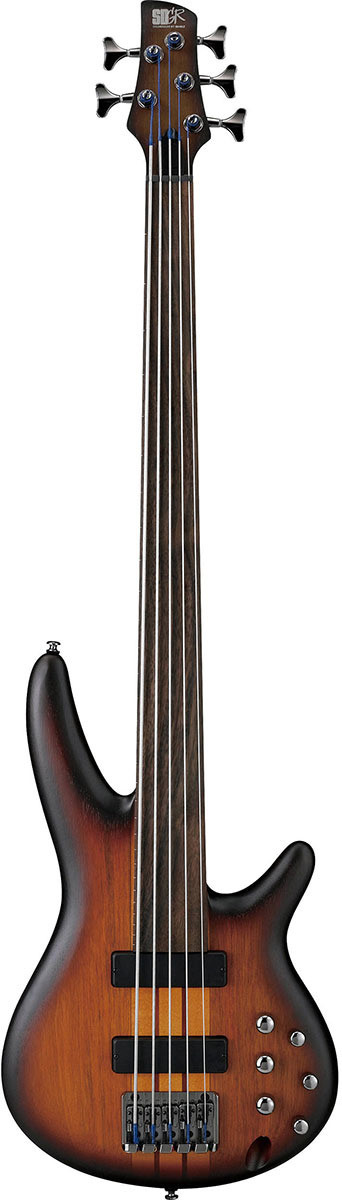 Бас-гитара Ibanez SRF705-BBF Brown Burst