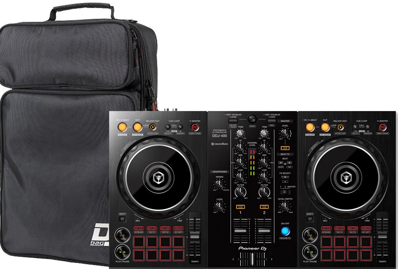 Dj-контроллер Pioneer DDJ-400 + DJ-Bag DJB Compact