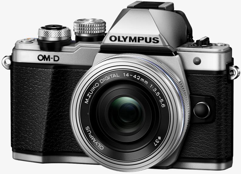 Фотоаппарат Olympus OM-D E-M10 Mark II Kit 14-42mm f/3.5-5.6 EZ Silver