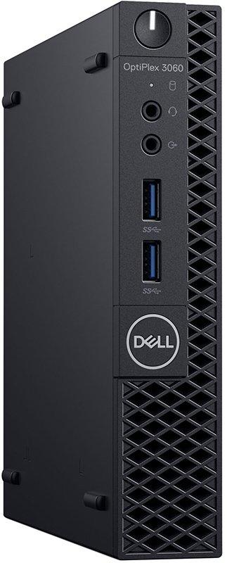 Неттоп Dell OptiPlex 3060 2,1GHz/8Gb/1Tb/W10 Black