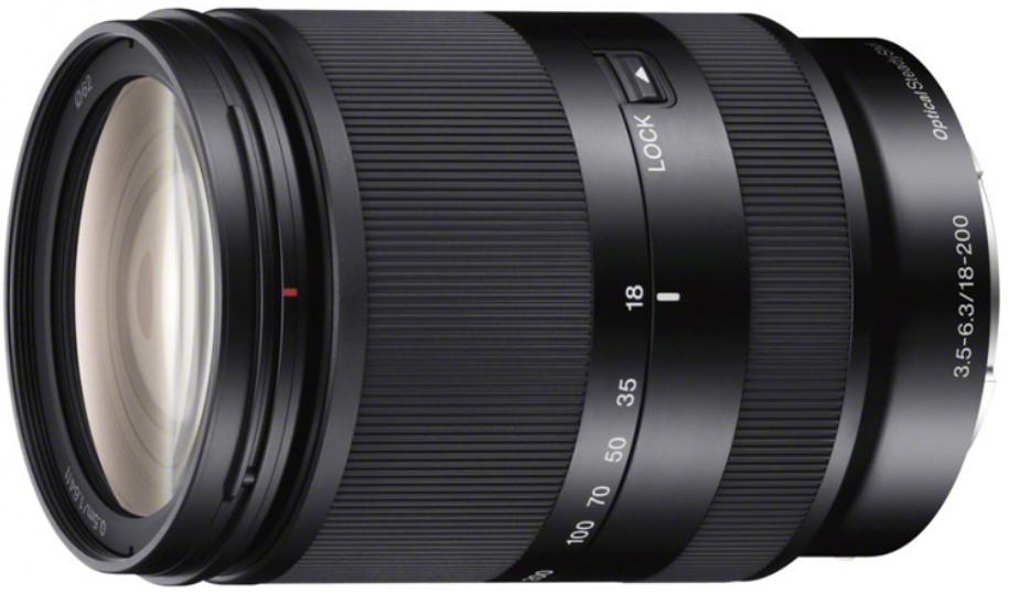 Объектив Sony E 18-200mm f/3.5-6.3 OSS LE Black