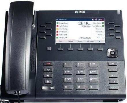 IP-телефон Mitel Terminal 6869i Black