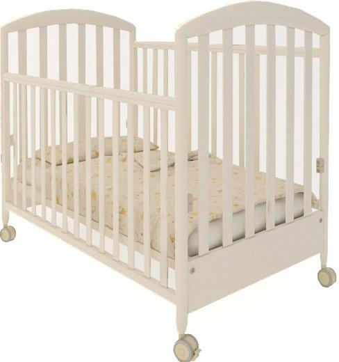Кроватка Papaloni Н0024036 бежевый
