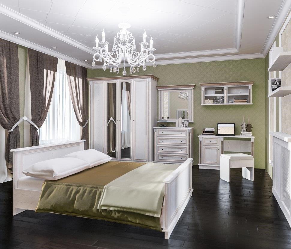 Спальня Столплит Версаль 120-485-152-5300 белый ясень