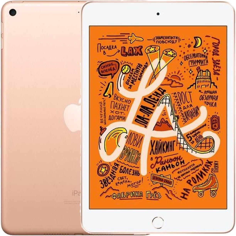 "Планшет Apple iPad Mini (5) 2019 7.9"" Wi-Fi + Cellular 64Gb Gold"