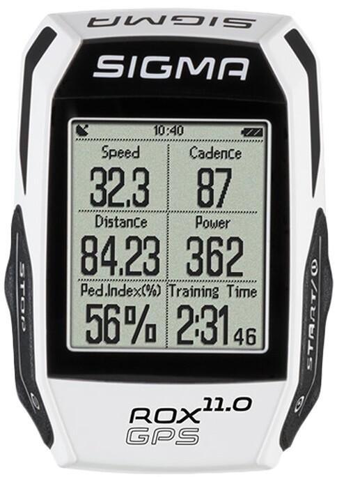 Велокомпьютер Sigma Rox 11 GPS Set White