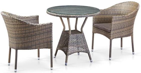 Комплект мебели Афина-Мебель  T705ANT/Y350G-W1289 2Pcs бледный