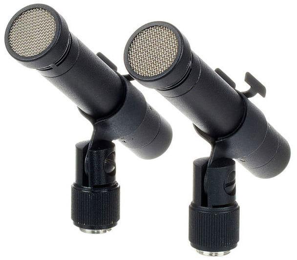 Микрофон Октава МК-012-01 стереопара черный