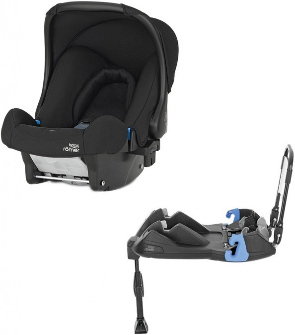 Автокресло Britax Roemer Baby-Safe Cosmos Black (0-13 кг) + Base Belted