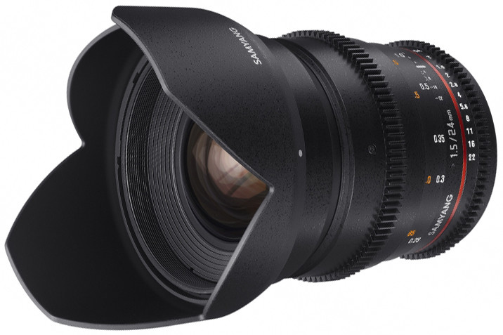 Объектив Samyang MF 24mm T1.5 ED AS UMC VDSLR Nikon F Black