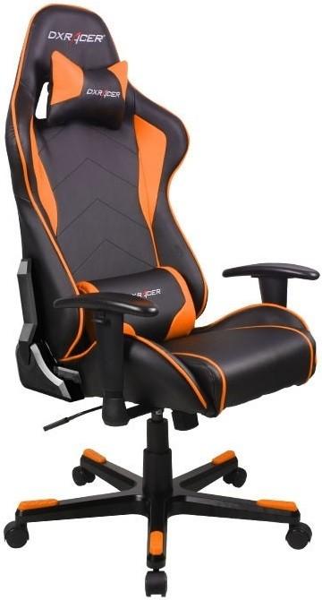 Игровое кресло DXRacer OH/FE08/NO черный/оранжевый