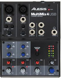 Микшерный пульт Alesis Multimix 4 USB FX