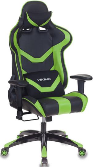 Игровое кресло Бюрократ CH-772N/BL+GREEN черный/зеленый