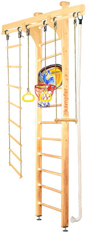 Kampfer Wooden Ladder Ceiling Basketbal…