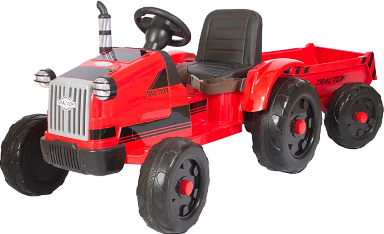 Трактор с прицепом Barty TR 55 Red