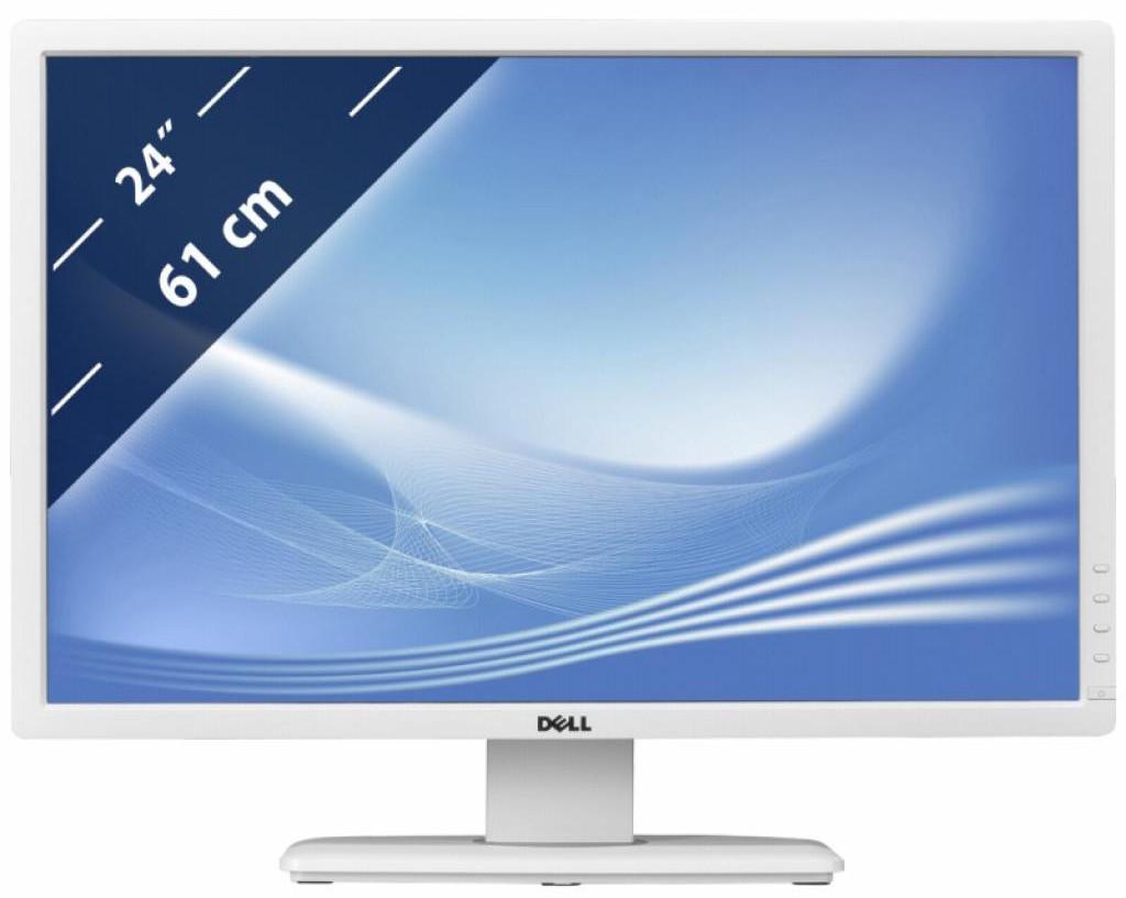 Монитор Dell U2412M White