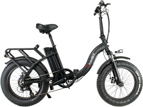 Электровелосипед iconBIT E-Bike K220 черный 20""