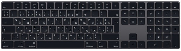 Клавиатура Apple Magic Keyboard with Nu…
