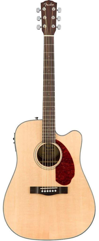 Акустическая гитара Fender CD-140SCE Dread NAT W/CASE