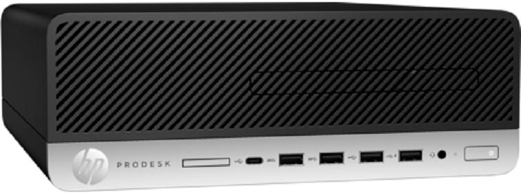 Компьютер HP ProDesk 600 G5 SFF 3GHz/16Gb/512GbSSD/W10 Black