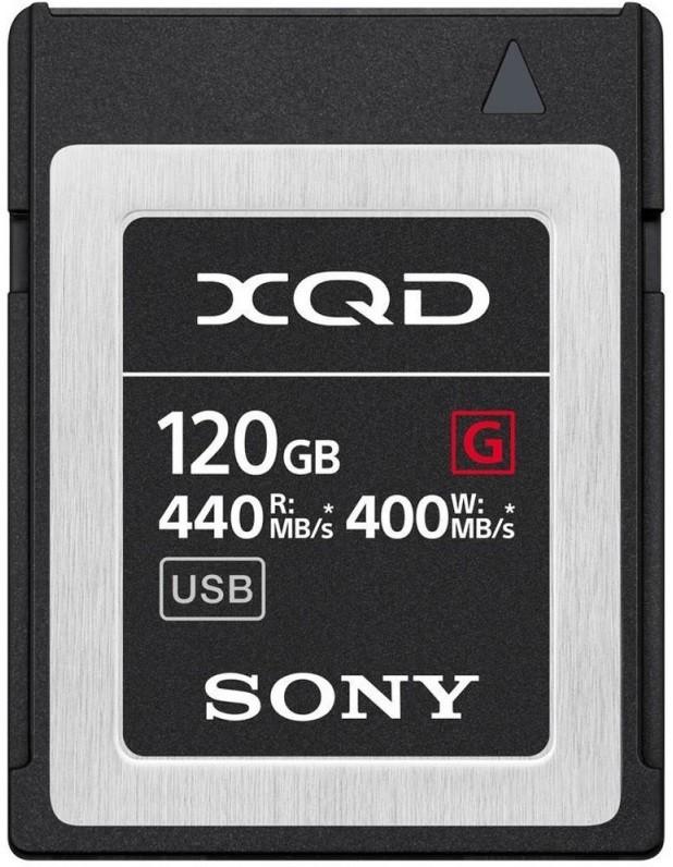 Карта памяти Sony XQD G Series 120Gb