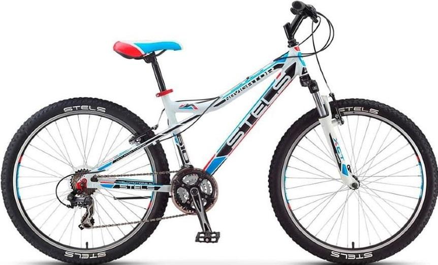 "Велосипед Stels Navigator 610 V 26 V040 (2019) белый/черный 26""/16"""