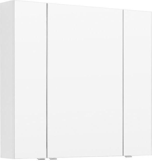 Зеркало-шкаф Aquanet Алвита 90 белый 90x85x17 см